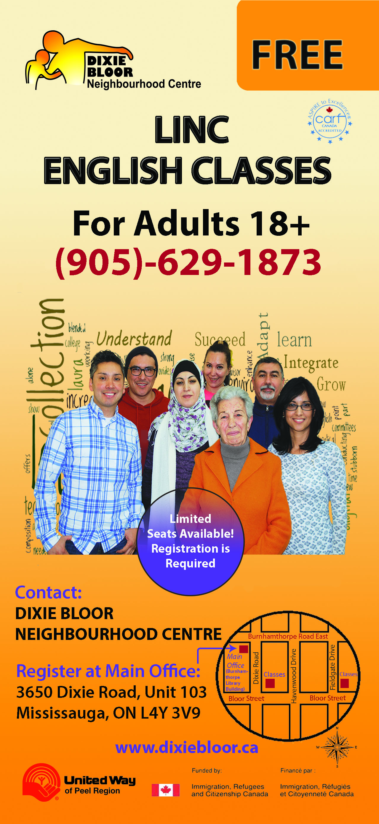 Adult learning centre mississauga